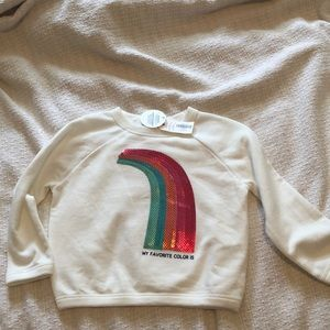 New with tags Gymboree sweatshirt size XXS